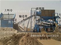 礦山淘金設備滾筒篩旱地淘金機械