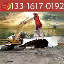 广州鹰嘴剪挖机,专业废旧汽车拆解设备 液压剪