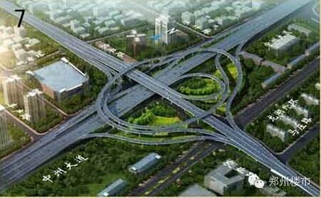 郑州:农业路高架桥三座立交规划方案出炉